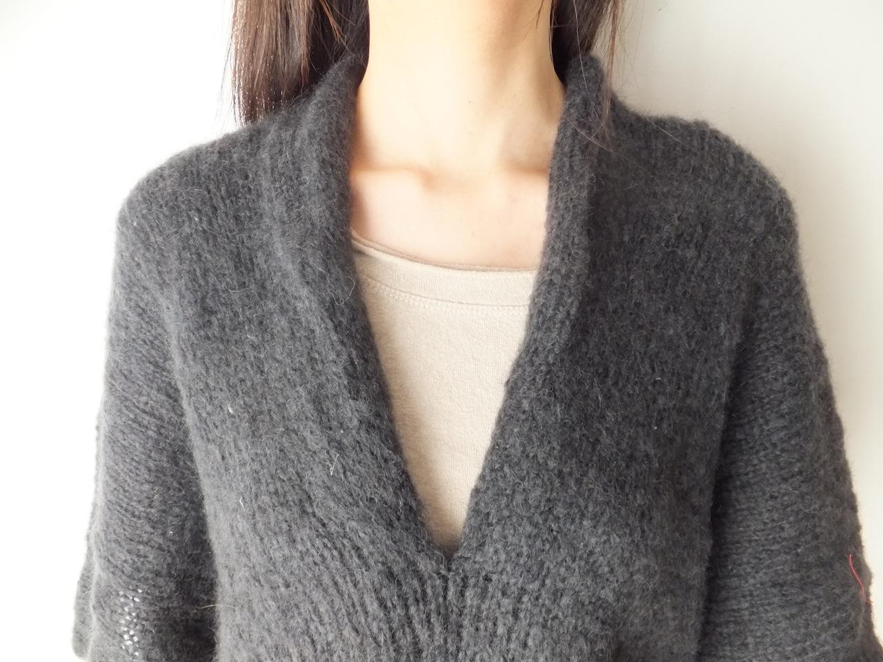 つつむ|手編みモヘア ...