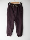 GOHEMP/SLIM RIB PANTS