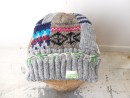 PATCH WORK KNIT CAP
