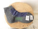 GOHEMP/HEMP 2TONE PILE QUARTER SOCKS