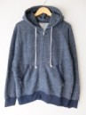 GOHEMP/ZIP UP PARKA INDIGO