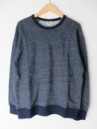 CREW PK SWEAT INDIGO