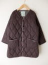 GOHEMP/ARMY QUILT COAT