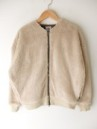 GOHEMP/NO COLLAR JACKET BOA