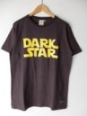 DARK STAR S/S TEE YELLOW PRINTED