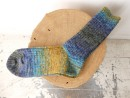SPLASH PATTERN SOCKS WOOL