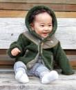 KIDS MONGOLIAN HOODY JACKET