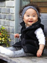 KIDS MONGOLIAN VEST