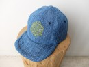 SYMBOL OF HEMP 6PANEL CAP ドビー本藍染め