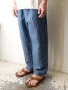 NEW DAY  PANTS ドビー本藍染め