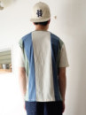 BASIC S/SL PK TEE STRIPE