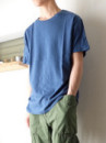 UNISEX S/S T SHIRTS 本藍染