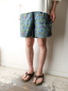 HEMP JAM SHORTS LOTUS PRINT