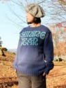 CREW KNIT SWEATER SHINING