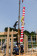 尺角6m通し柱 建て方